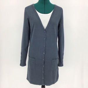 Yest Yaella Thigh Length Cardigan with Pockets, 6